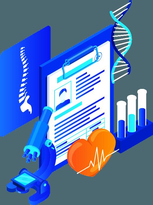 Diagnostics Labs Graphic