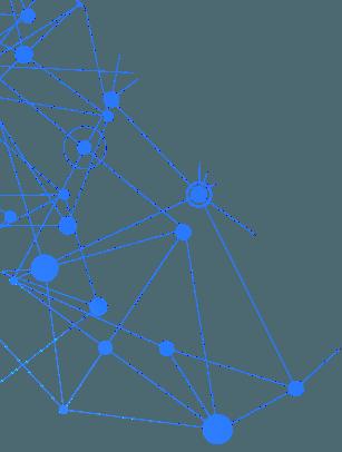 blue connect dots