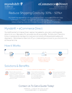 Myndshft and eCommerce Direct Healthcare Shipping & Fulfillment